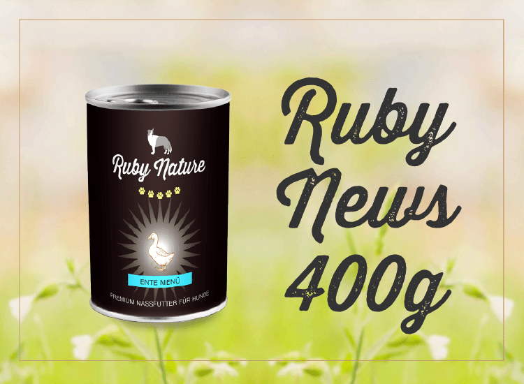 Ruby Nature 400g Dose